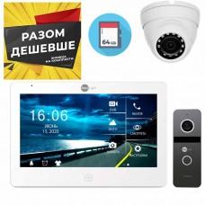 Комплект видеодомофона Neolight Mezzo HD и Neolight Solo FHD и камера 2Мп