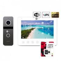 Комплект видеодомофона Neolight NeoKIT HD+ WF (Graphite)
