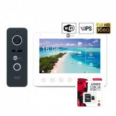 Комплект видеодомофона Neolight NeoKIT HD+ WF (Black/Bronze/Silver)